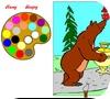 Кадр из игры Маша и медведь: Чаепитие