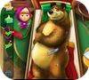 Кадр из игры Маша и медведь: Пострадавший мишка