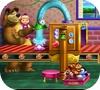 Кадр из игры Маша и медведь: Ремонт игрушек