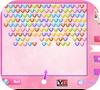 Кадр из игры Говорящая Анжела: Стрельба по сердечкам