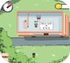 Кадр из игры Зомби: Закусочная на колёсах