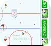 Кадр из игры Хоккей