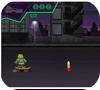 Кадр из игры Лего черепашки ниндзя: спасти Эйприл