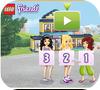 Кадр из игры Лего Френдс: Школа