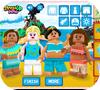 Кадр из игры Принцессы Лего