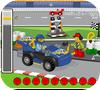 Кадр из игры Лего Джуниор: Заправь Гонщика