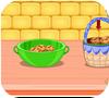 Кадр из игры Шеф повар Зоуи готовит блюдо из картофеля