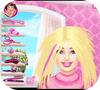 Кадр из игры Подстригаем Барби