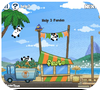 Кадр из игры Три панды в Бразилии