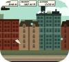 Кадр из игры Бумажный самолётик