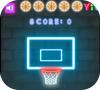 Кадр из игры Неоновый Баскетбол