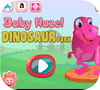Кадр из игры Малышка Хейзел: Парк динозавров