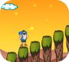Кадр из игры Человек поднимается на гору